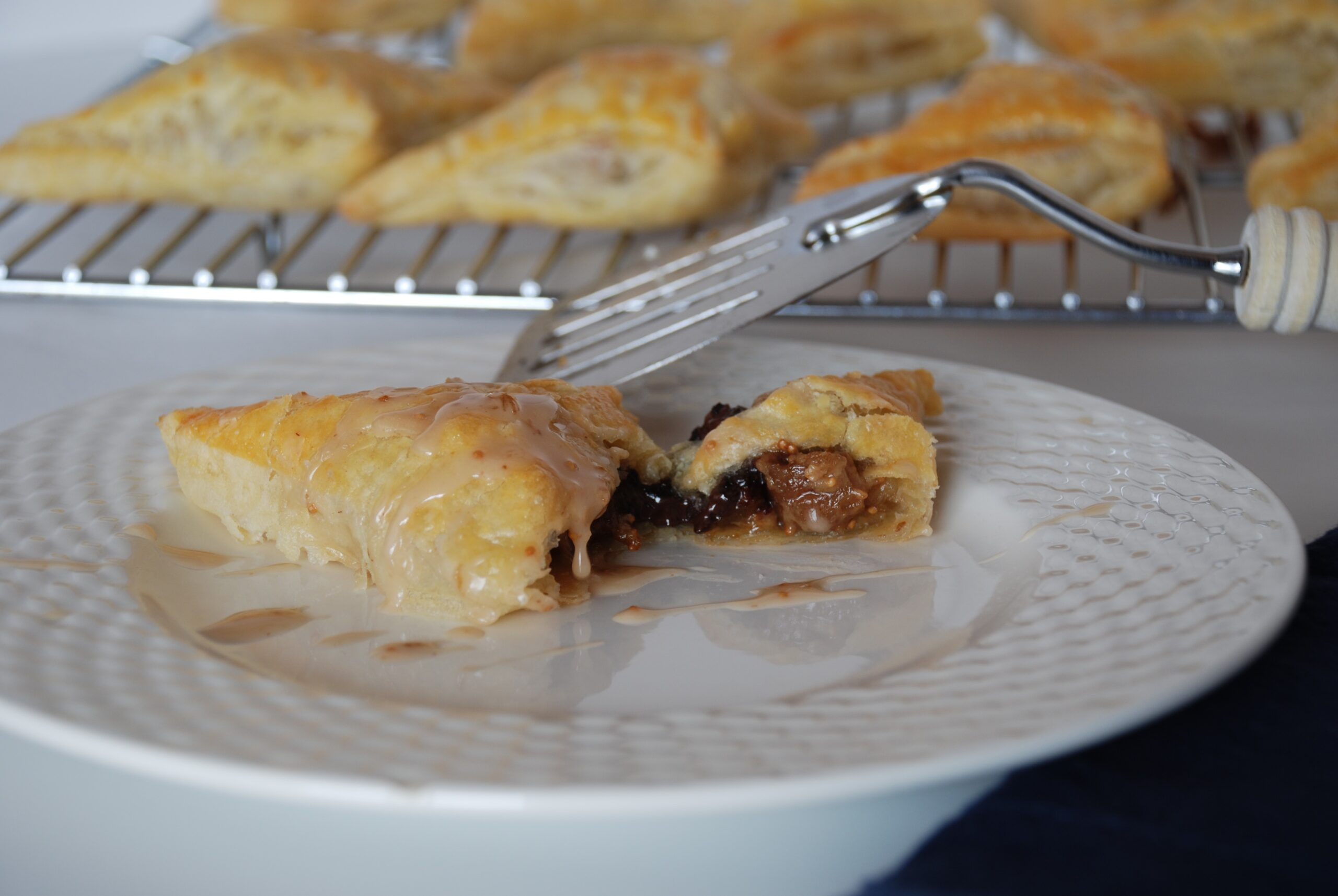 Buricche (Jewish-Italian Pastry Turnovers) with Drunken Figs and Mascarpone