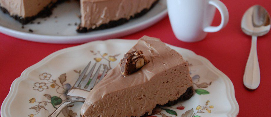 Nutella Mousse Cheesecake