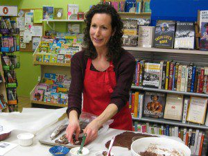 Hamantashen Demo and Cookbook Talk, One More Page Books, March 12, 2014