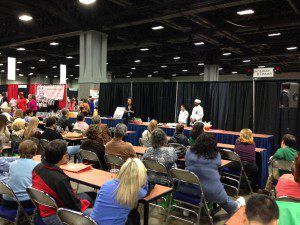 Workshop presentation to standing-room-only crowd at the DC Metro Cooking in November 2013