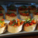 Manischewitz® Roasted Tomato & Garlic Bruschetta