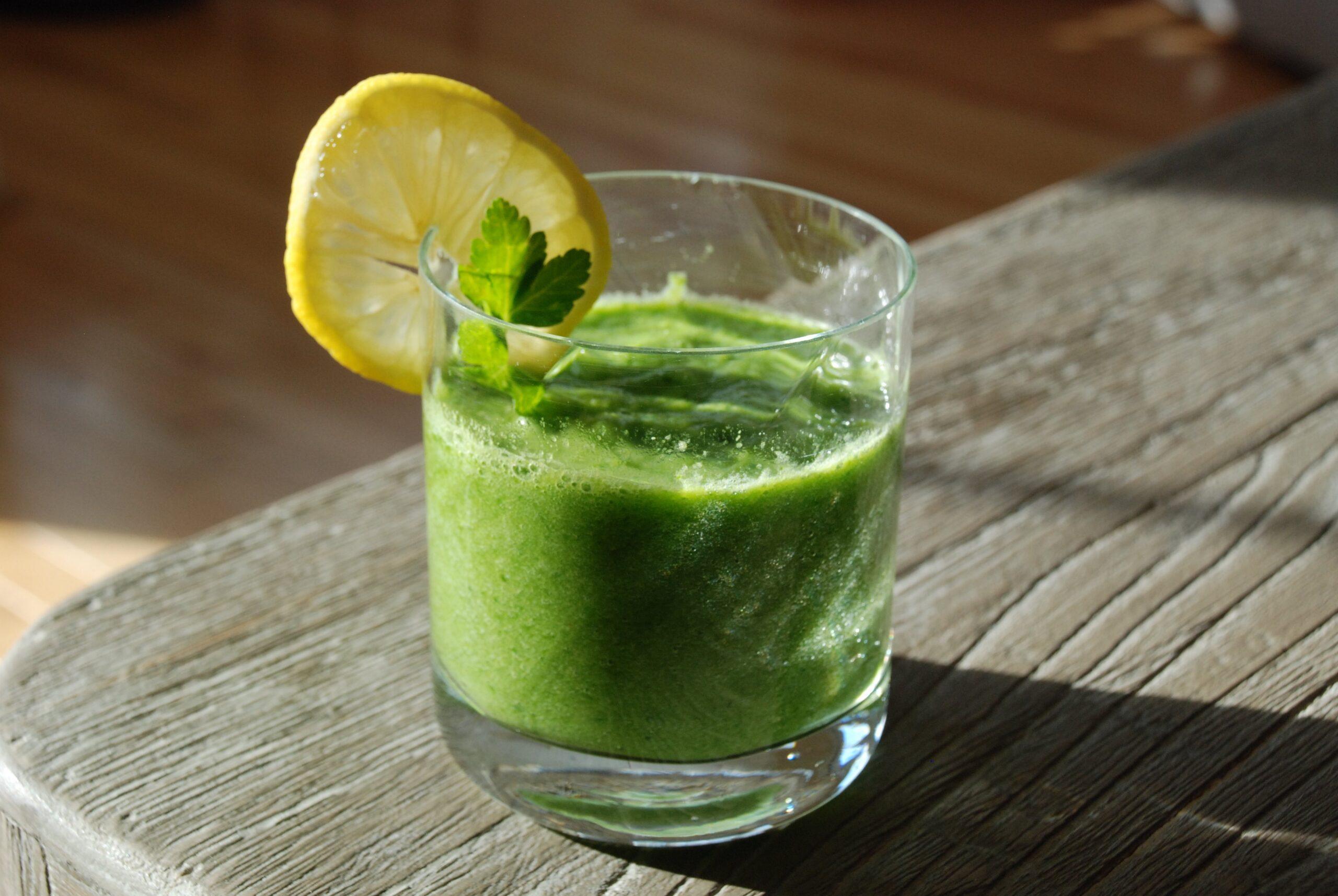 Post-Holiday Green Elixir