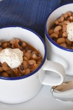 Spicy-Smoky Black-Eyed Peas