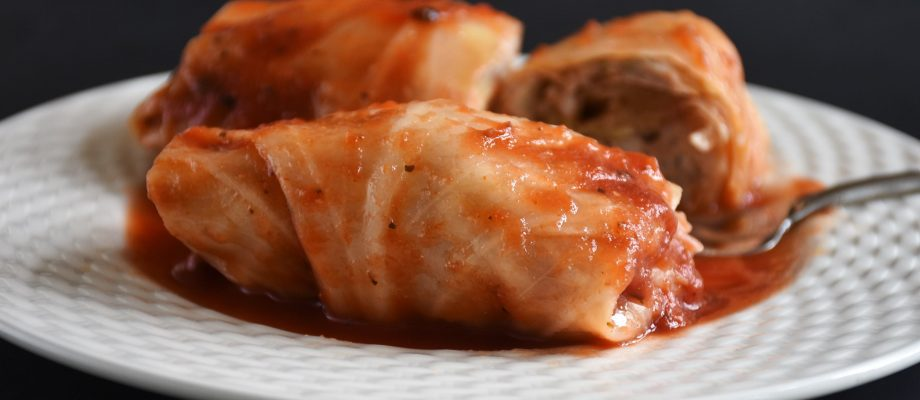 Turkey and Fennel Stuffed Cabbage